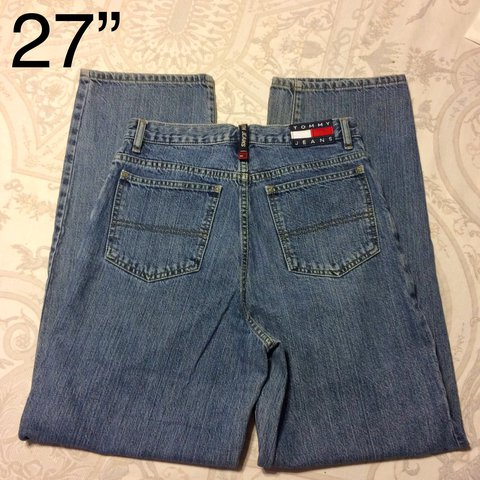 9ac42ef3 @hmdeboe. last year. Gainesville, United States. Vintage Tommy Hilfiger  high waisted mom jeans ...