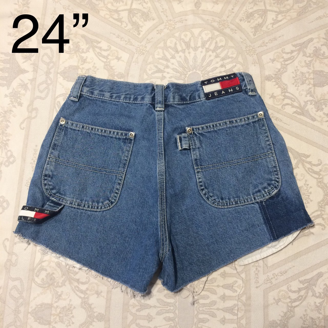9f39a14b PRICE DROP!! This is a pair of vintage Tommy Hilfiger high - Depop
