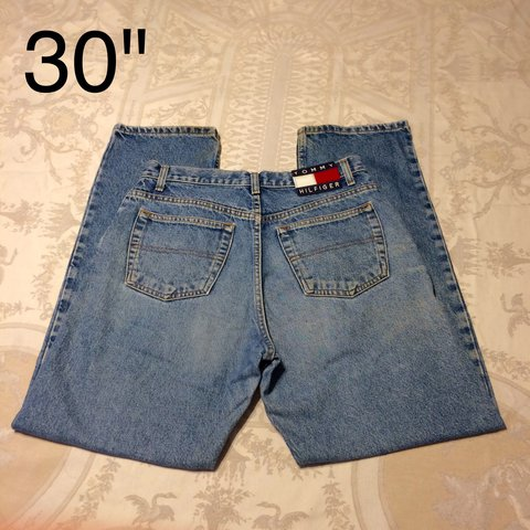 18dad157 @hmdeboe. last year. Gainesville, United States. PRICE DROP!!! This is a  pair of vintage Tommy Hilfiger high waisted mom jeans ...