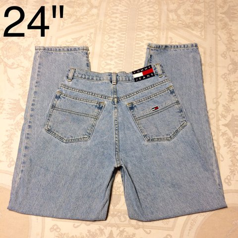 cb0200f0 @hmdeboe. last year. Gainesville, United States. PRICE DROP!! Vintage Tommy  Hilfiger high waisted mom jeans ...