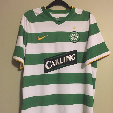 4c429e082 Nike authentic Celtic FC jersey size large! In good overall - Depop