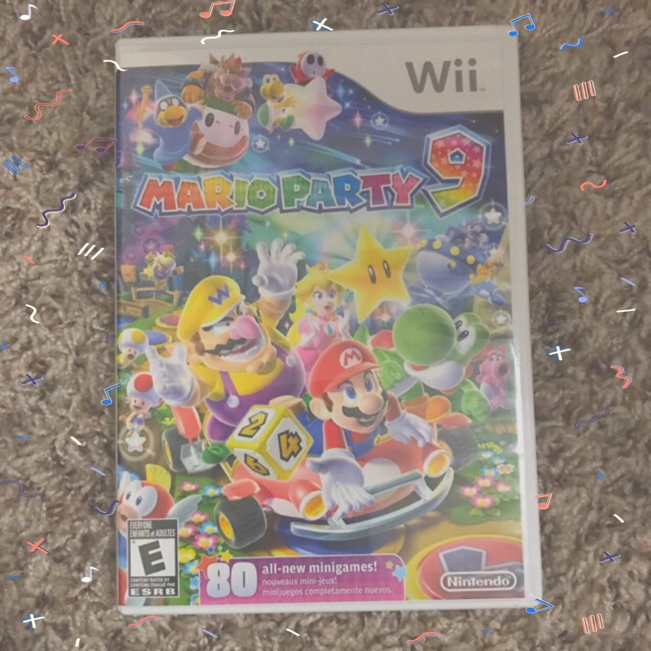 b7d88138a Mario Party 9 for the Wii in perfect... - Depop