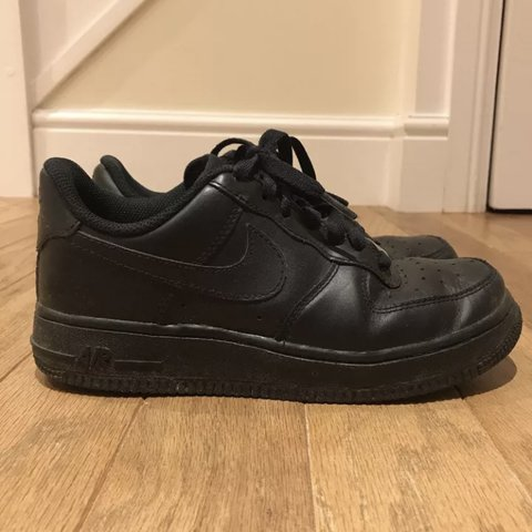 brand new c3964 84157  charlottearnell. last year. Banstead, United Kingdom. Black Air Force 1  Nike trainers ...
