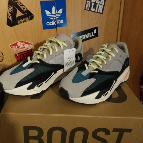 d6665fda755e3  titaboy. last year. Germany. Adidas Yeezy Boost 700 Wave Runner by Kanye  West Deadstock ...