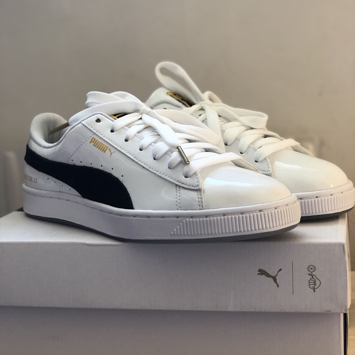 competitive price 1bb0a 09694 Puma x BTS basket sneakers! Selling my new BTS puma... - Depop