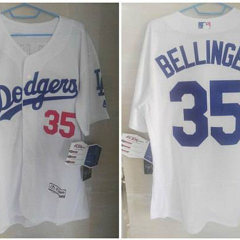 Brand New Cody Bellinger White Authentic Dodgers Jersey. by - Depop 586bc4286d2