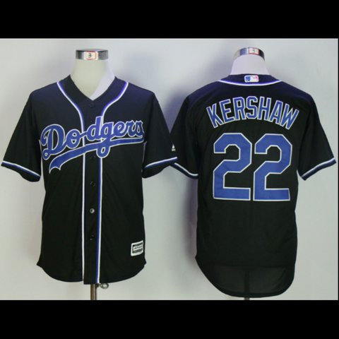 Brand New Clayton Kershaw Black Authentic Dodgers Jersey. by - Depop 55c5d6c47