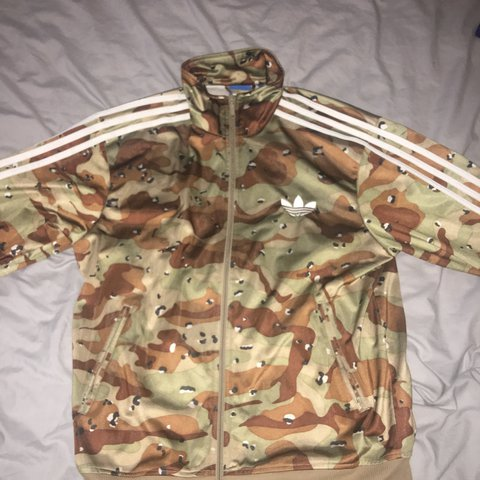 Adidas Originals Firebird Bliss Camo Track Top Size Xl. Activewear