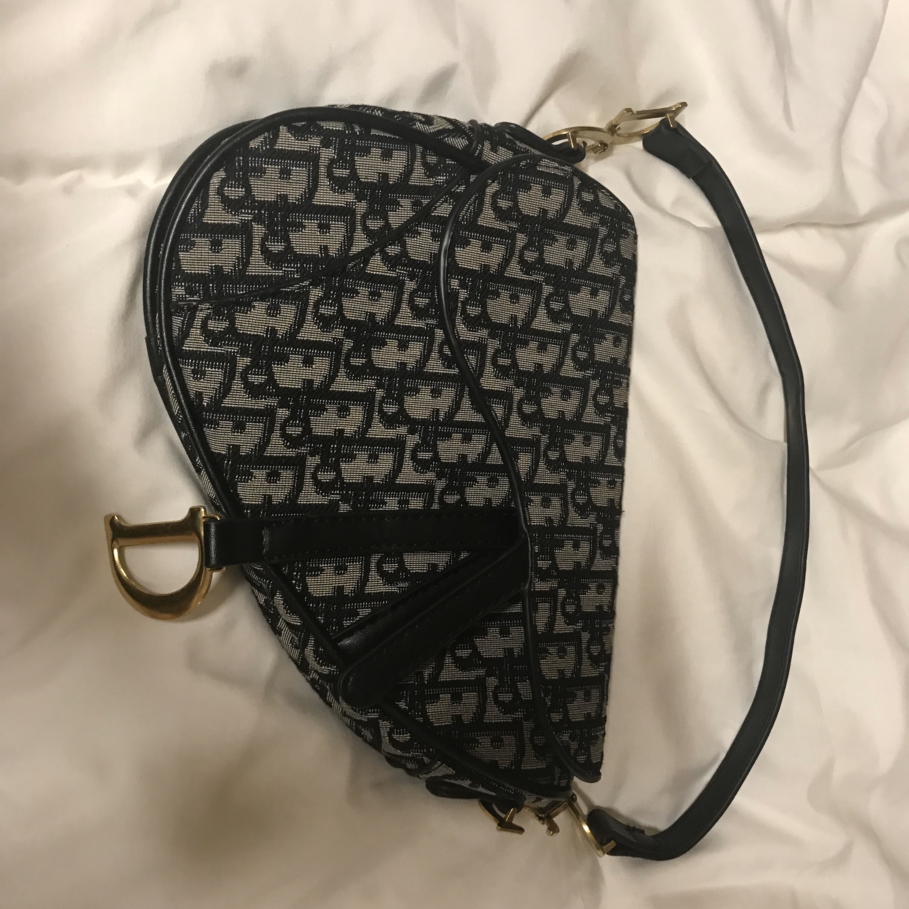 Dior Oblique Saddle Bag by Depop