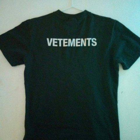 495103dd @peeterpaarker. 4 months ago. Switzerland, CH. Vetements STAFF t shirt  crewneck