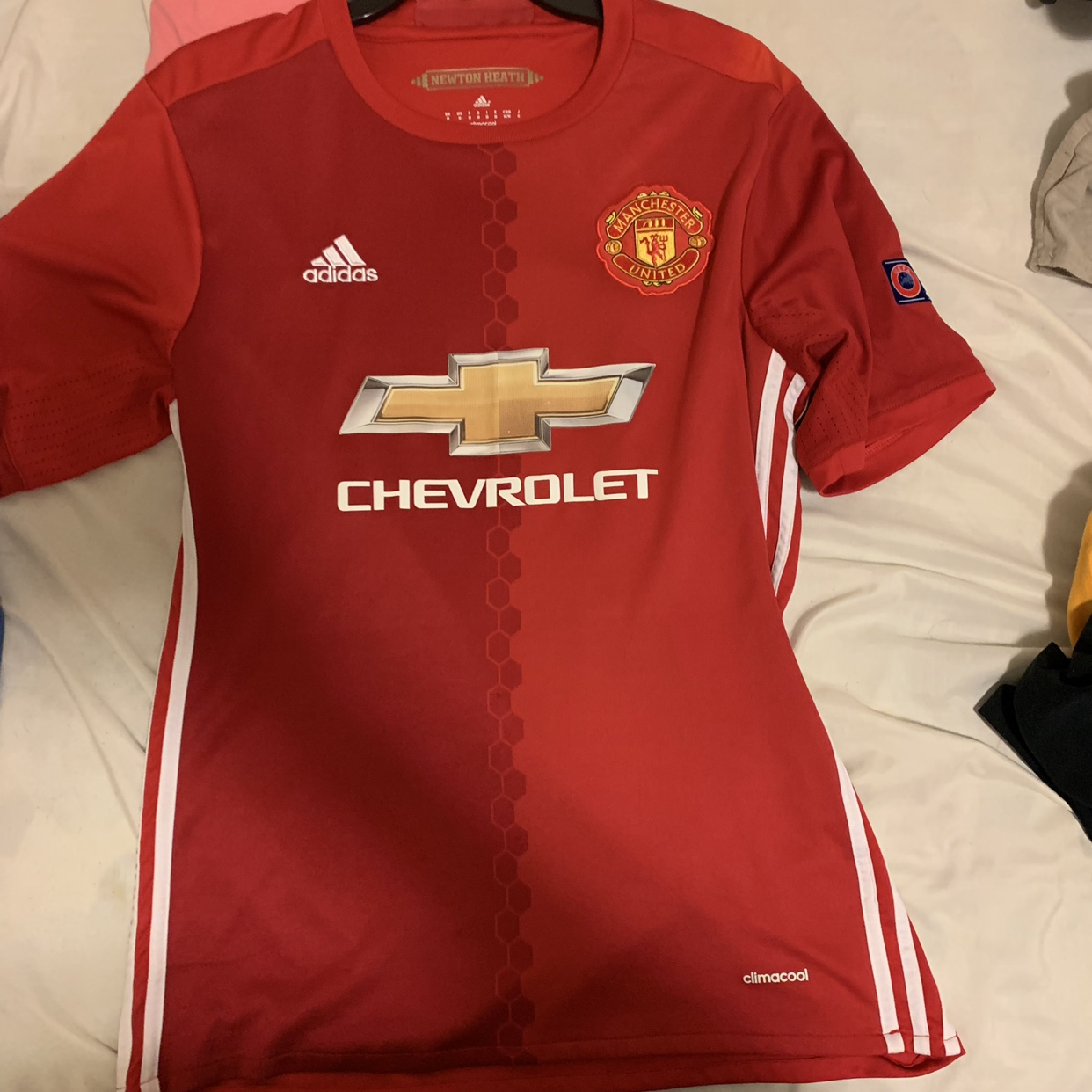 free shipping e82fa 110ab Manchester United Paul Pogba Jersey #6 Real... - Depop
