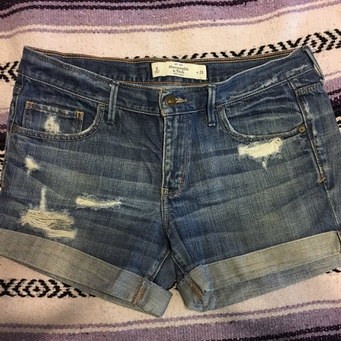 80388962c6 @lgaston. last year. Phoenix, United States. Super cute Abercrombie & Fitch  distressed denim shorts.