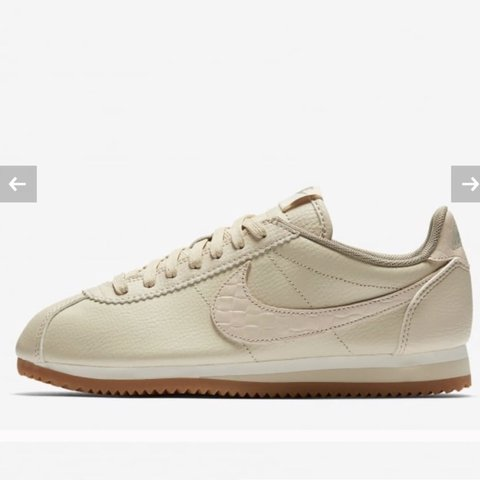 nike cortez leather lux
