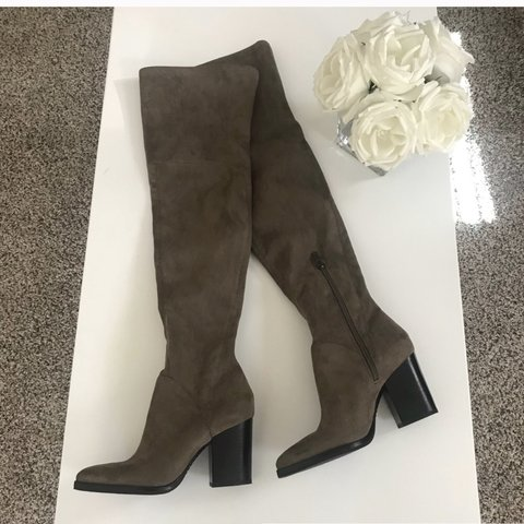 72d3f58e27e Marc Fisher LTD Arrine Over-the-Knee Boot This pointy-toe - Depop