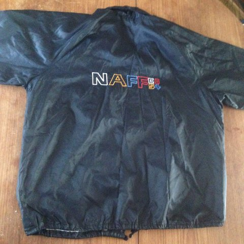 b7608fef6 Vintage Naf Naf co 54 coach jacket