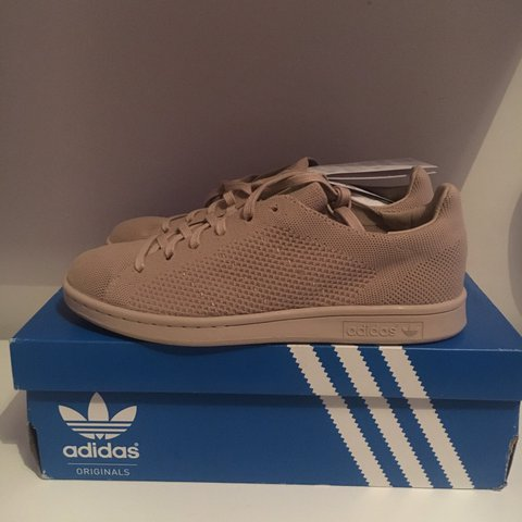 BRAND NEW ADIDAS STAN SMITH PRIMEKNIT CLAY BROWN BEIGE UK 7 - Depop 622b13960