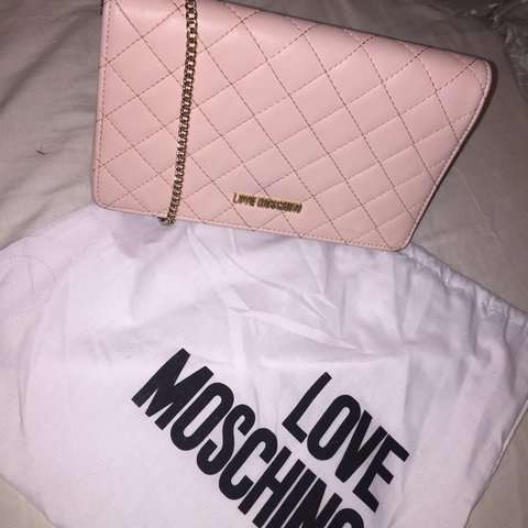 ada138a297f GENUINE MOSCHINO BAG Slightly worn so willing to sell for of - Depop