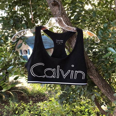 ee72b4bfdd Calvin Klein racer back sports bra! In perfect condition