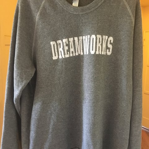 39a19de2 Dreamworks Vintage Crewneck Sweater. Fits long and baggy in - Depop