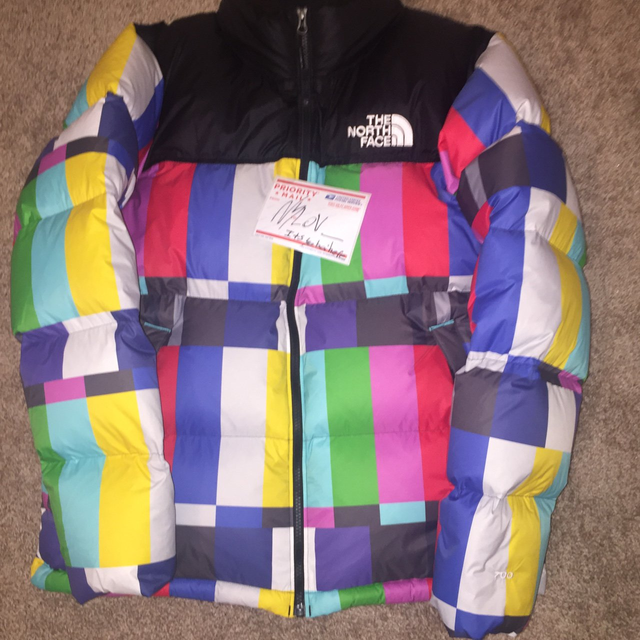 "0b829f198a The north face x extra butter ""technical difficulties"" size - Depop"