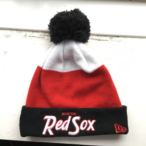 853a7c115d1 ... promo code for boston red sox beanie. hardly worn it so in great  condition.