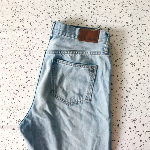 b3877516b24 Madewell perfect summer jeans in Fitzgerald Wash. High-rise - Depop