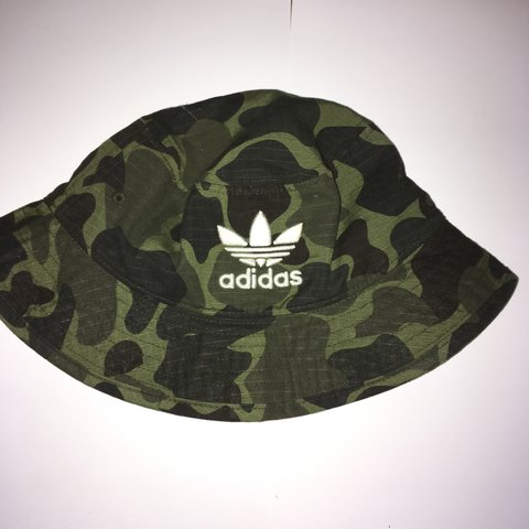e4bea06575a90 Adidas camp bucket hat worn ones 👌universal fit will take - Depop