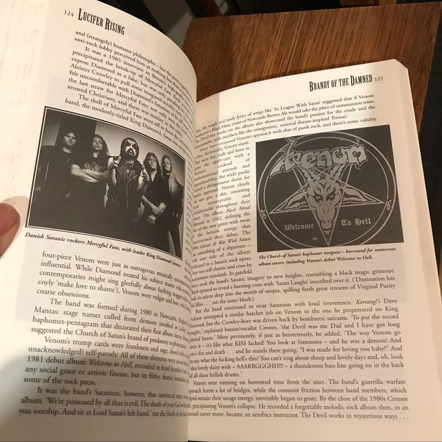 Lucifer rising  History of satanism and metal  Great    - Depop
