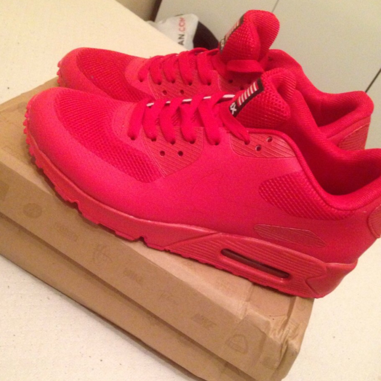 Nike Air Max, solar red hyperfuse, Independence Day. Depop