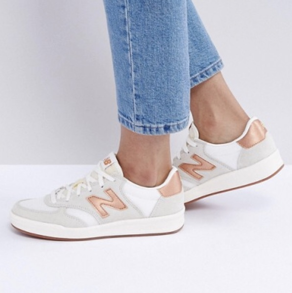 New Balance 300 Suede Court Trainers With Copper Depop