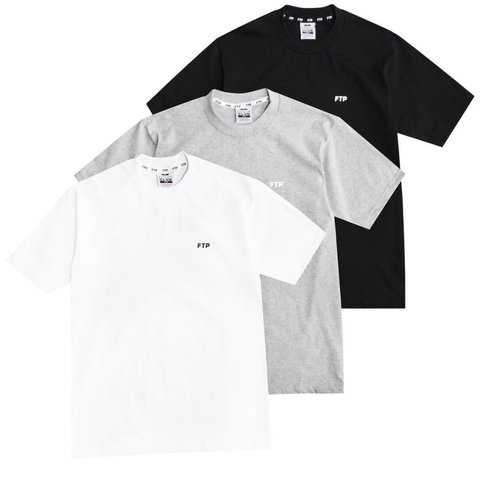 4123d80d FTP + PRO CLUB 3 PACK all three shirts: black white and gray - Depop