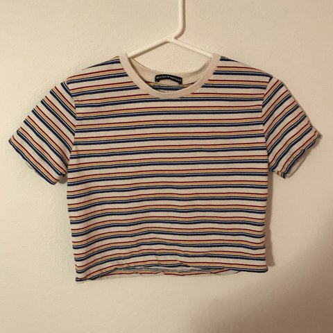 6d1cc905d0 brandy melville striped helen top. brand new without tags IS - Depop