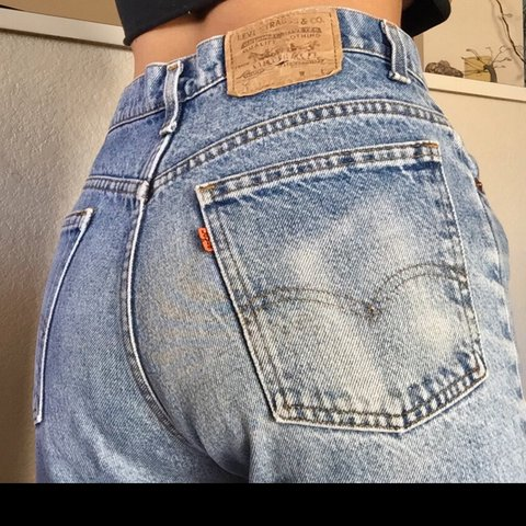 323c22a3 @lianyluv. 8 months ago. Tucson, United States. Free shipping. Vintage  Levis 517 jeans ...
