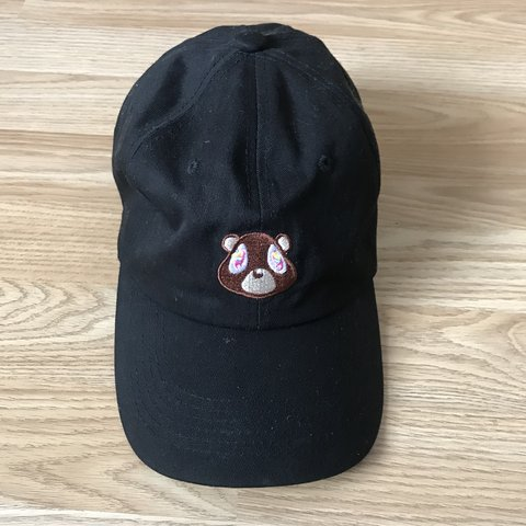 88882a14a5e13 Kanye West dropout bear hat Yeezy Shipping £4 10 10 still to - Depop
