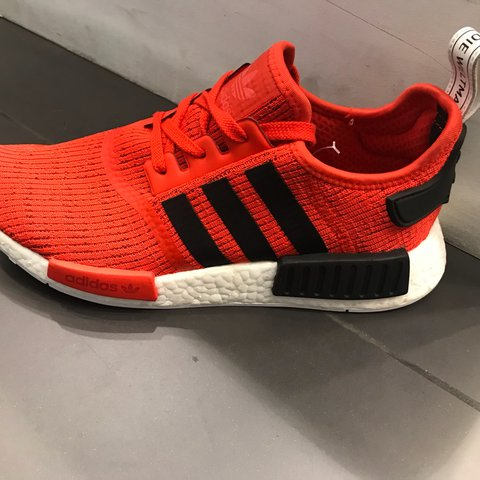 new product 0c496 8f0a8 Adidas NMD, orange and black- 0