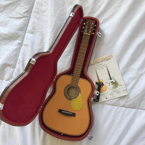 American Girl Doll Guitar Including The Guitar The Case A Depop