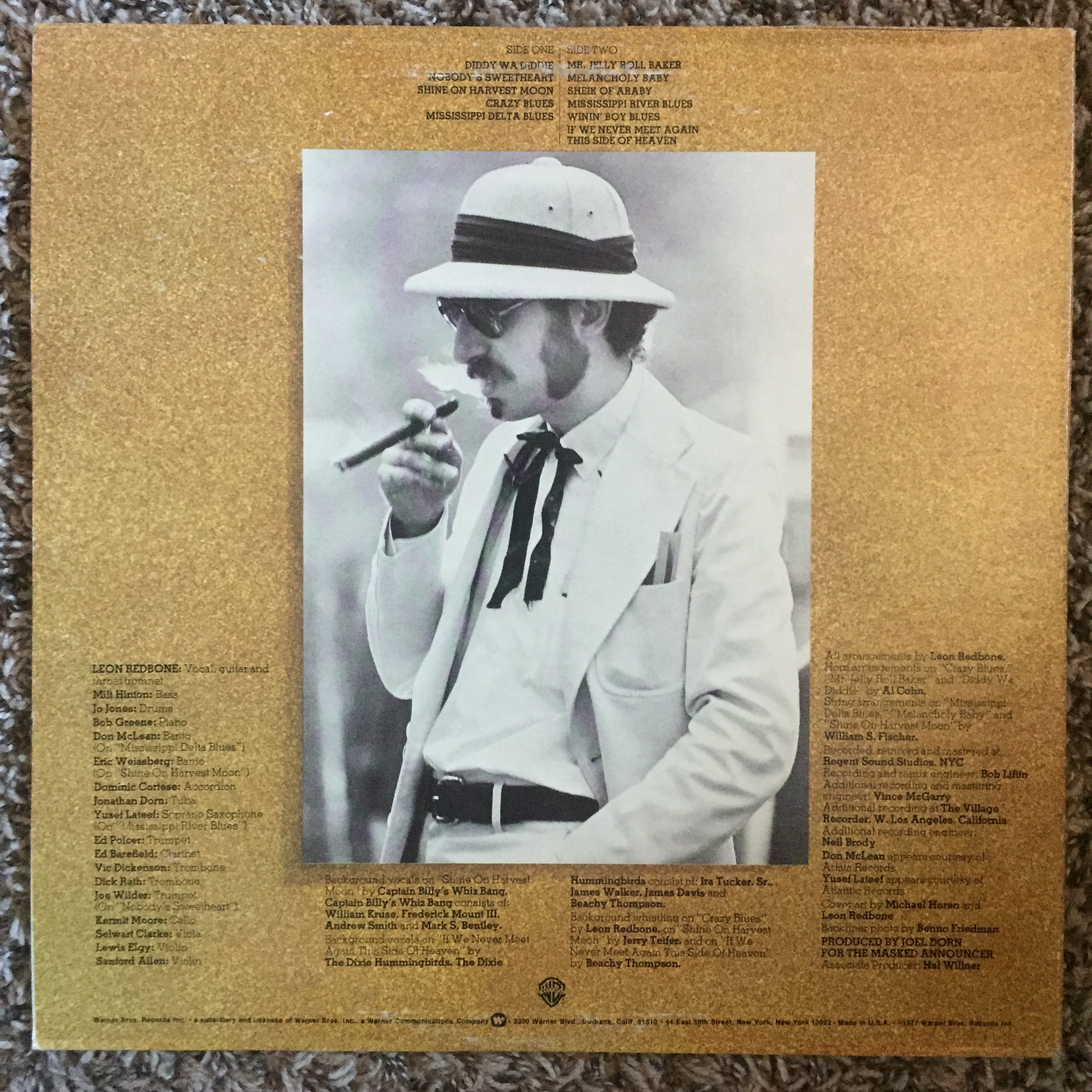 FREE SHIPPING 📬 For sale is one vintage Leon Redbone    - Depop