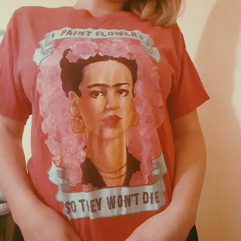 a9a35b245 Frida Kahlo t-shirt, with quote