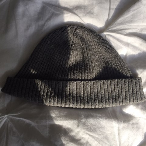 7924a1312ea Gray beanie! Perfect for this rainy and cold weather. 10 10 - Depop