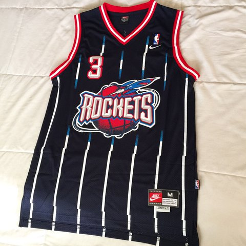 4a4bf01d0be @heatbrokeraz. 2 years ago. Litchfield Park, United States. Vintage Steve  Francis Houston Rockets Jersey