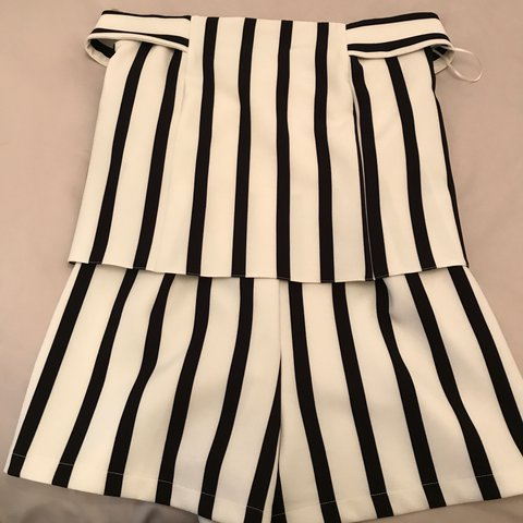 7f38e6b6f84 Size 10 Topshop Bardot Playsuit. Perfect condition. Once - Depop