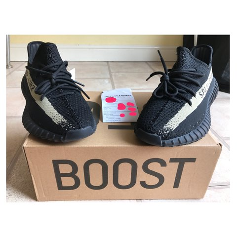 a0494f068 Adidas Yeezy Boost 350 V2 - Olive Green Size - UK - - No for - Depop
