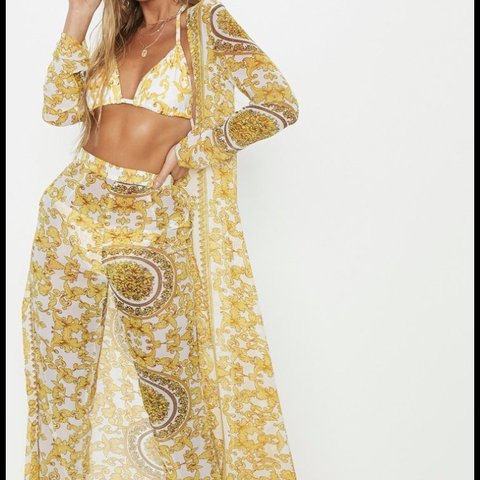 a8a3a9d280 @leenaxxx. 10 months ago. Cardiff, United Kingdom. Women's beach coverup-  size 10- perfect condition. White ...