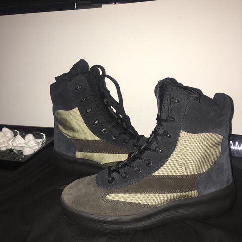 344496a22 Yeezy Season 5 Military Boots. Box including. I have the on - Depop