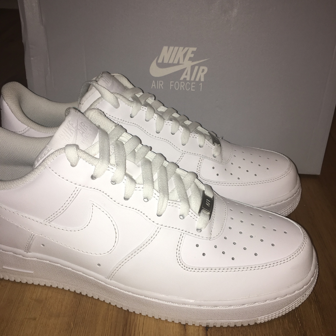 SOLD ON EBAY* White Air Force 1 size 11