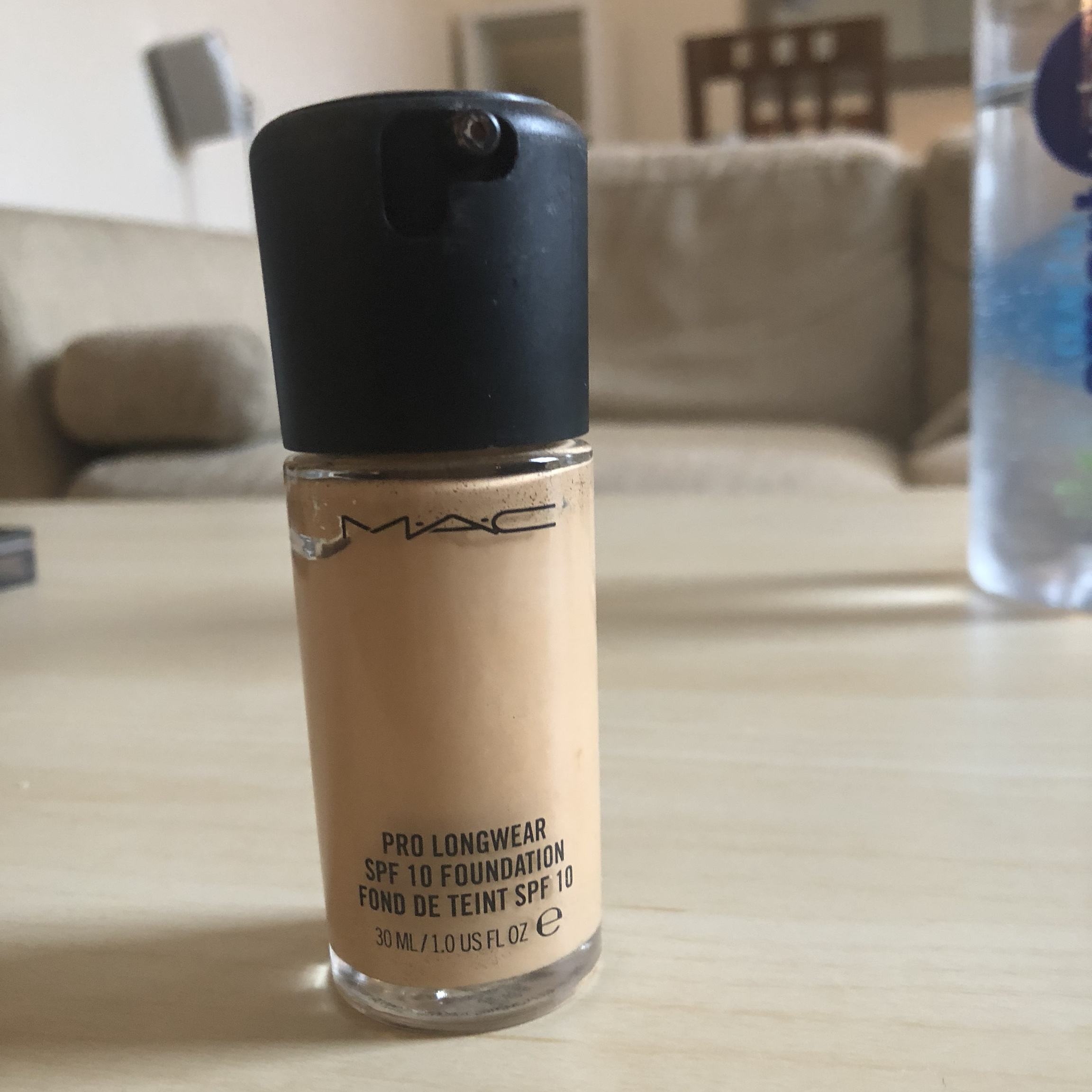 Mac Pro Longwear Spf 10 Foundation In Nc25 Used Depop