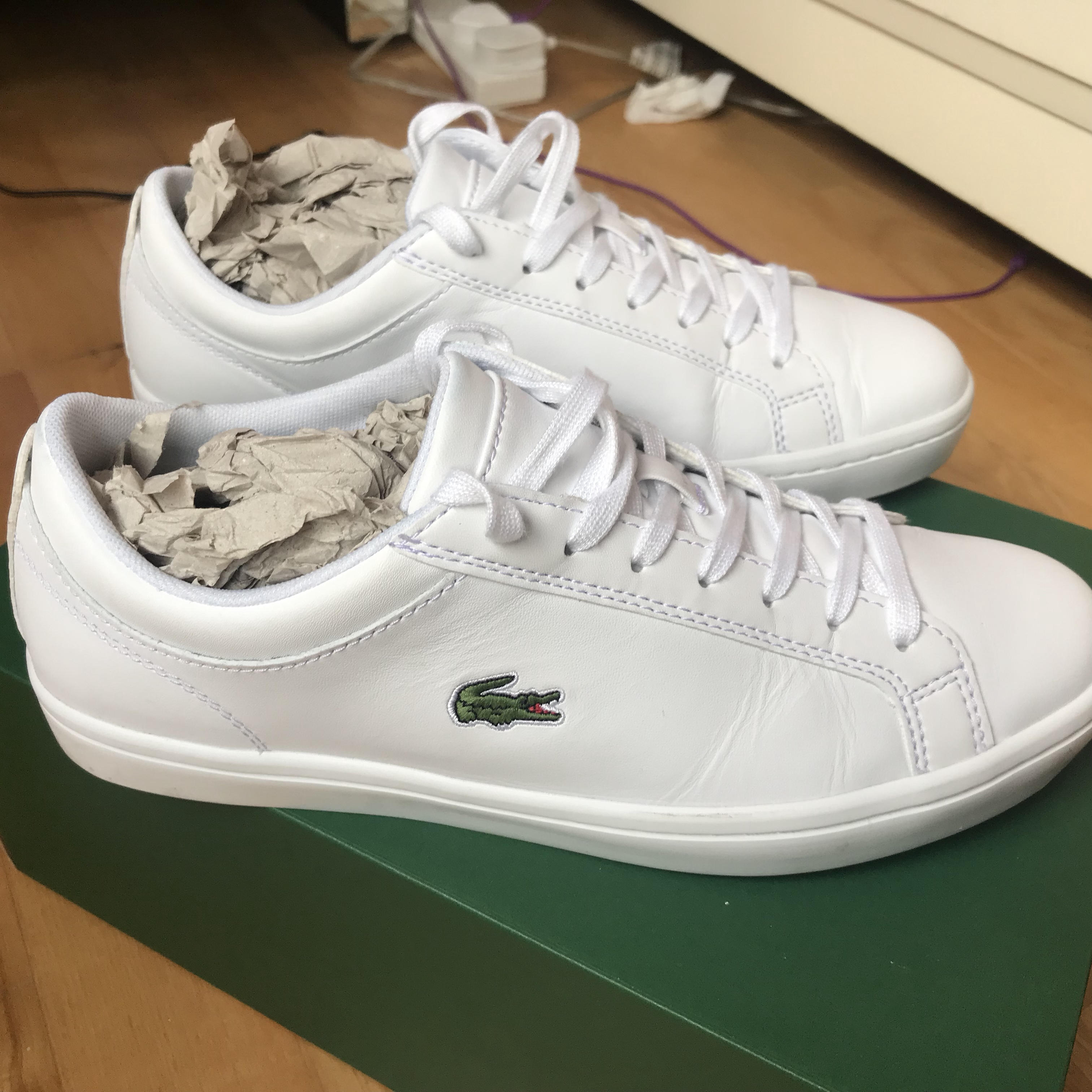 Lacoste classic straightset white