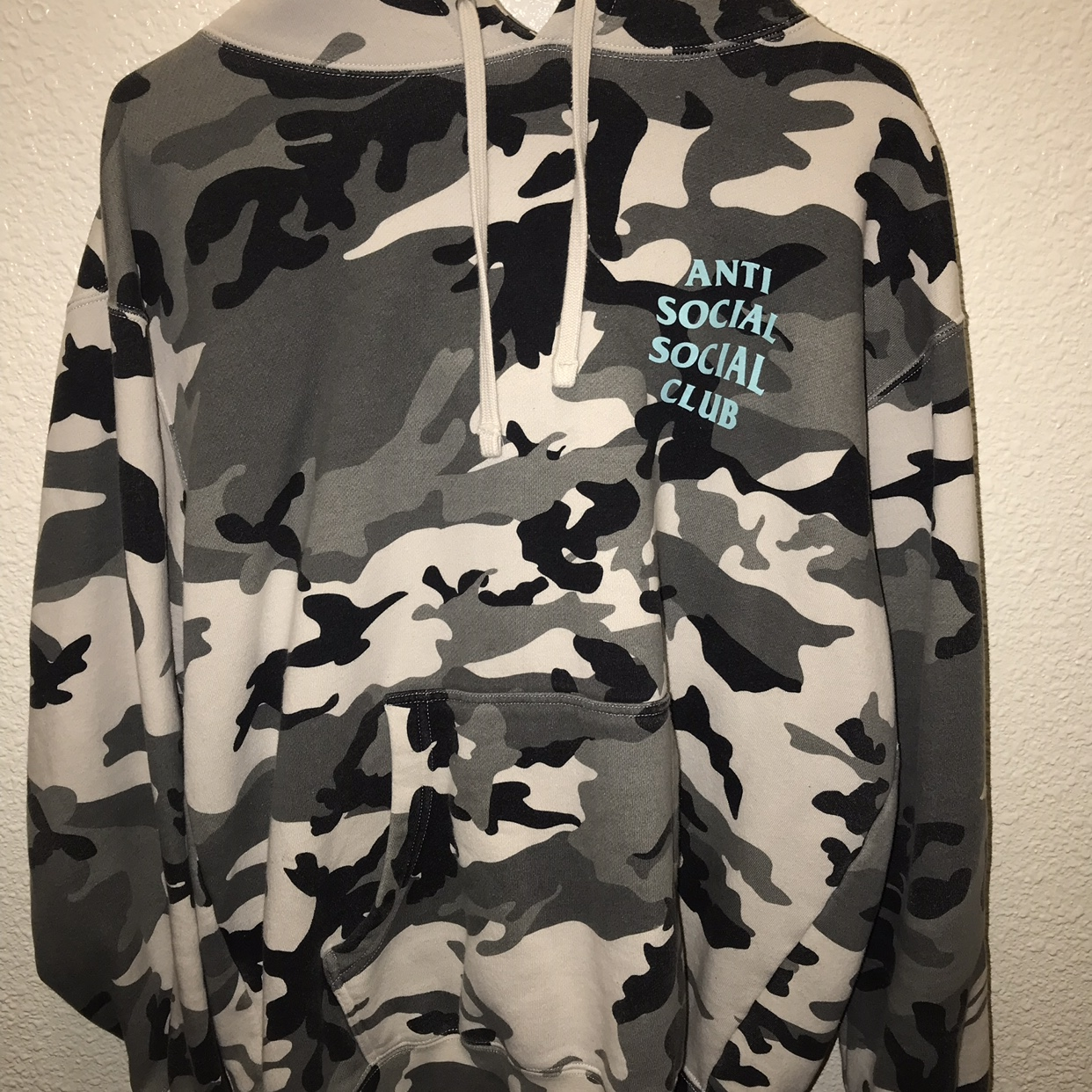 Hoodie ASSC Brand New Anti Social Social Club Melrose Ave