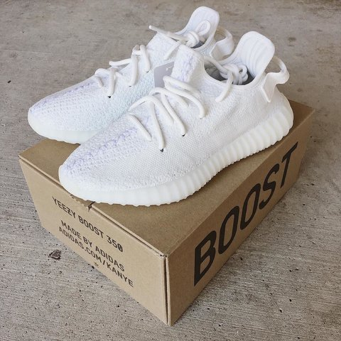 82af17589 @skntgt. 2 years ago. Humble, United States. adidas YEEZY BOOST 350 V2 -  cream