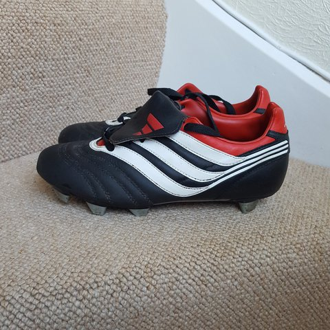 24803b7636307b Adidas Traxion Football Boots    Red